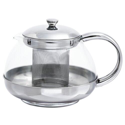 Bohmann Заварочный чайник BH-9631 1 л, серебристый