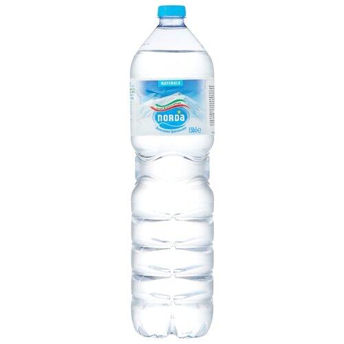 Вода минеральная Norda негазированная, ПЭТ, 1.5 л минеральная вода от изжоги при беременности