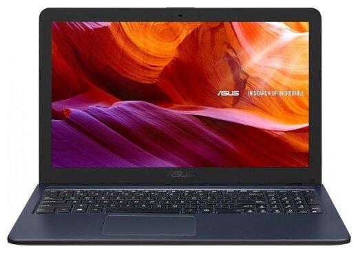 """Ноутбук ASUS VivoBook X543UA-DM1540T (Intel Core i3 7020U 2300MHz/15.6""""/1920x1080/4GB/512GB HDD/DVD нет/Intel HD Graphics 610/Wi-Fi/Bluetooth/Windows 10 Home) — купить по выгодной цене на Яндекс.Маркете"""