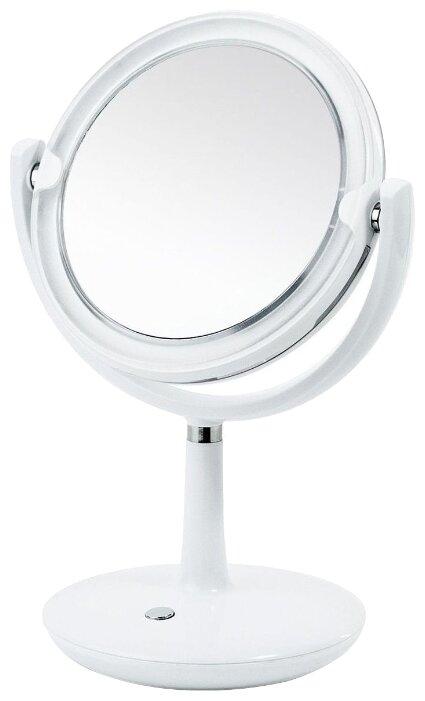 Зеркало косметическое настольное Tatkraft Valge (20535) с подсветкой