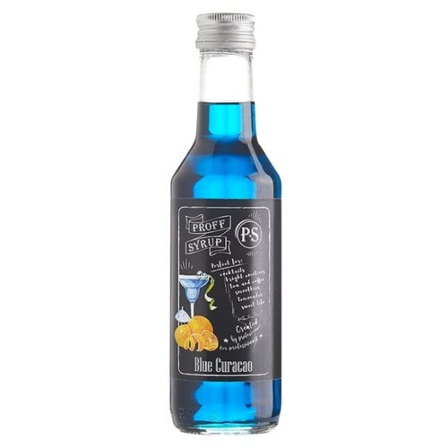 Сироп ProffSyrup Blue Curacao 0.25 л vedrenne карамель сироп 0 7 л