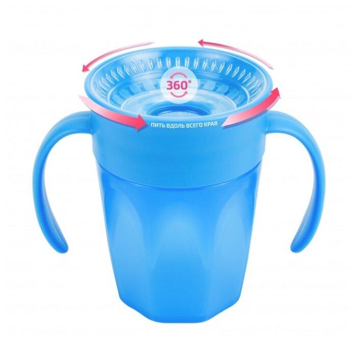 Чашка-непроливайка Cheers 360° с ручками, 200 мл