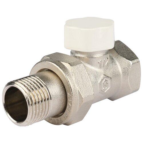 Фото - Запорный клапан STOUT SVL 1176 муфтовый (ВР/НР), латунь, для радиаторов Ду 15 (1/2) запорный клапан far ft 1616 муфтовый нр нр латунь для радиаторов ду 15 1 2