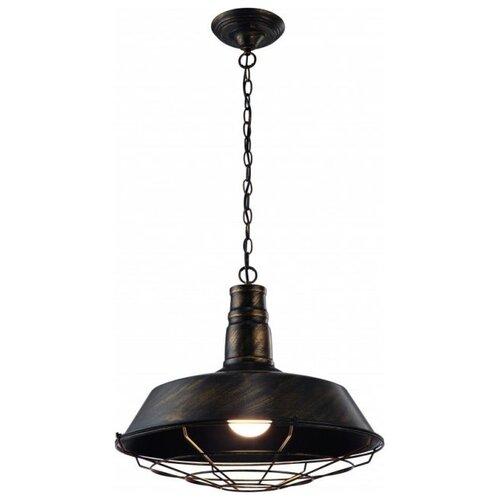 Светильник Arte Lamp A9183SP-1BR, E27, 60 Вт настенный светильник arte lamp bevel a9330ap 1br 60 вт