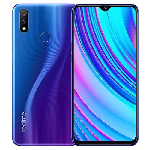 Смартфон realme 3 Pro 4/64GB синий нитро