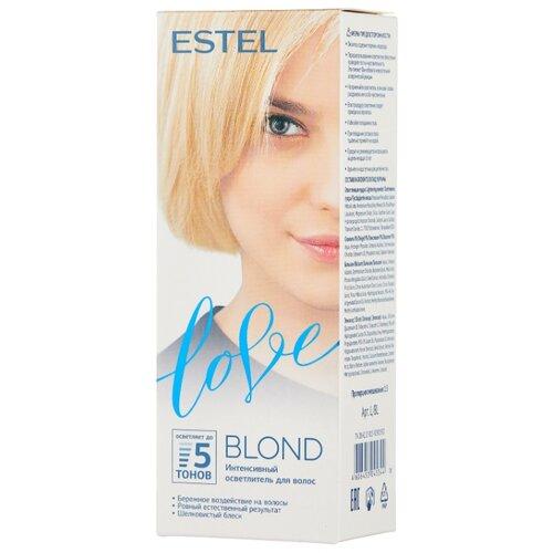 ESTEL Love Интенсивный осветлитель для волос, blond артколор maxi blond осветлитель для волос с экстрактом белого льна 30г 60 мл
