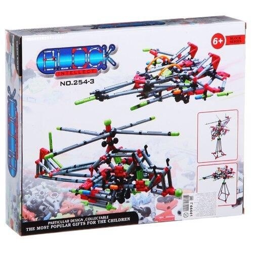 Купить Конструктор Intellect Block 254-3 Вертолет 2 в 1, Конструкторы
