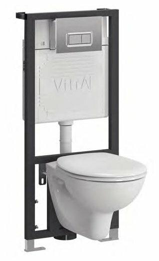 Комплект унитаза с инсталляцией Vitra Arkitekt 9005B003-7211