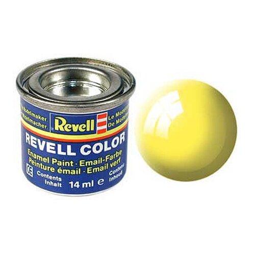 Краски для моделизма, эмалевая, желтая РАЛ 1018, глянцевая
