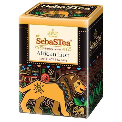 Чай черный SebaSTea African lion, 100 гЧай<br>