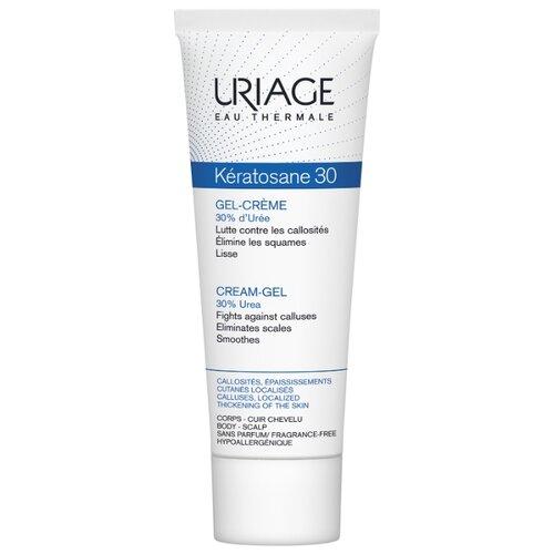 Гель-крем для рук и ног Uriage Keratosane 30 для локализованных утолщений кожи 75 мл