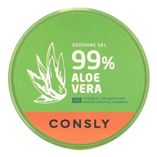 Гель для тела Consly Aloe Vera Soothing Gel успокаивающий с экстрактом алоэ вера, 300 мл