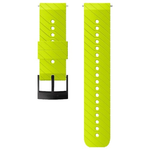 SUUNTO Ремешок Athletic 3 Silicone Strap для Suunto Spartan Sport/Spartan Sport Wrist HR/Baro/9/D5 Lime Black milanese loop stainless steel strap for suunto spartan sport metal bands replacement watchband strap for suunto spartan sport