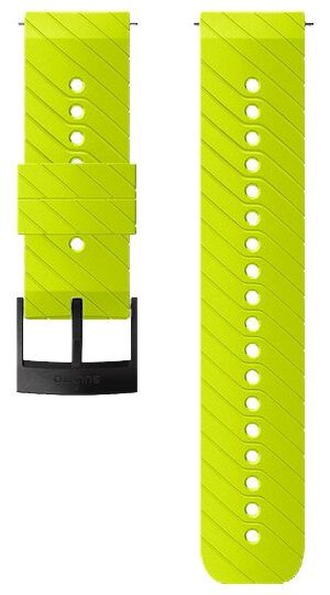 SUUNTO Ремешок Athletic 3 Silicone Strap для Suunto Spartan Sport/Spartan Sport Wrist HR/Baro/9/D5 White Steel