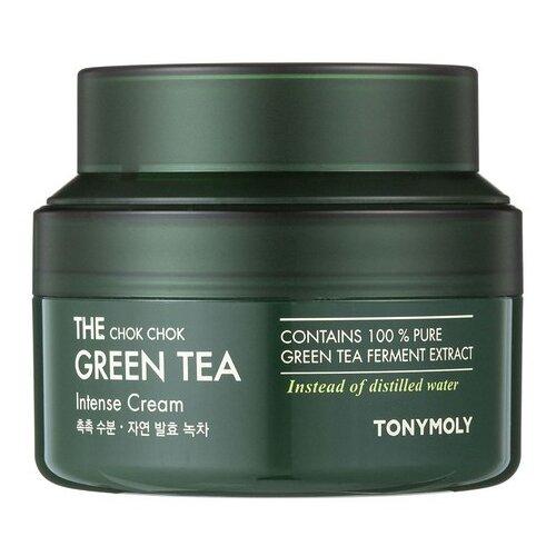 TONY MOLY The Chok Chok Green Tea Intense Cream Интенсивный крем для лица с экстрактом зеленого чая, 60 мл tony moly the chok chok green