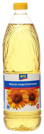 ARO Масло подсолнечное рафинированное дезодорированное
