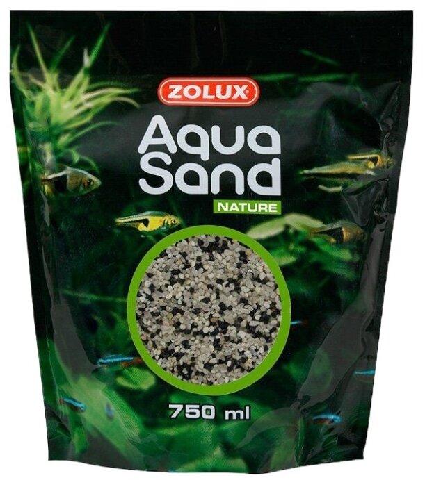 Грунт ZOLUX Aquasand Nature Mix Havaii 750 мл, 1.4 кг