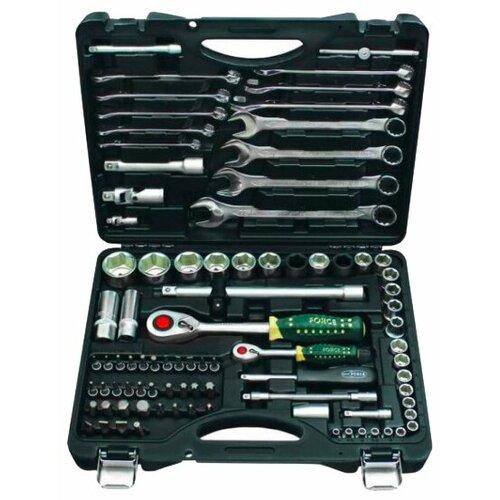 Набор автомобильных инструментов ROCKFORCE (88 предм.) 4881-5 черный набор автомобильных инструментов зубр 53 предм 27640 h53 серебристый черный