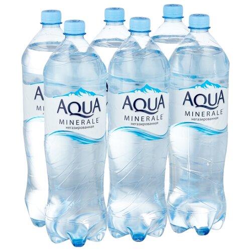 Фото - Вода питьевая Aqua Minerale негазированная, ПЭТ, 6 шт. по 1.5 л вода aqua minerale малина 500 мл