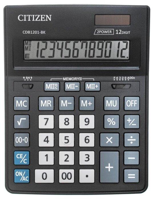 Калькулятор бухгалтерский CITIZEN CDB1201-BK