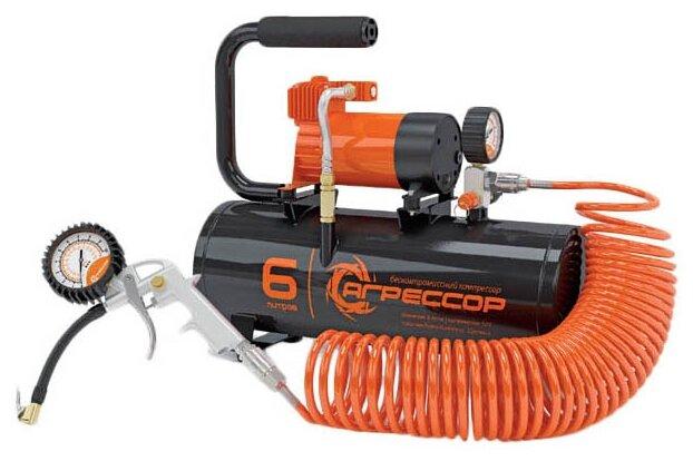 Автомобильный компрессор Агрессор AGR-6LT