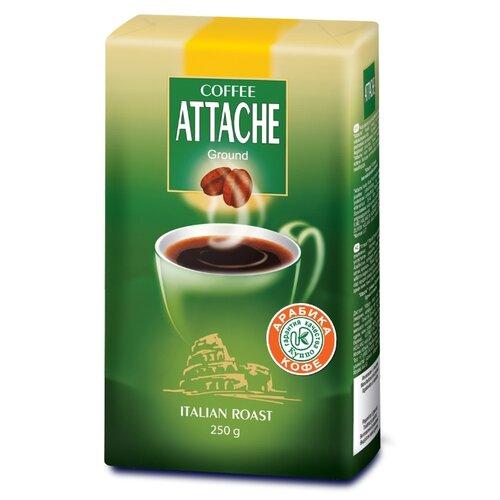 Кофе молотый Attache Itallian Roast, 250 г кофе молотый lofbergs medium roast in cup 250 г