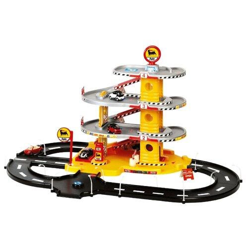 Купить Faro 804 красный/желтый/серый/черный, Детские парковки и гаражи