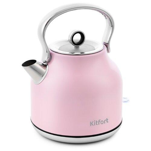 Чайник Kitfort KT-671, розовый