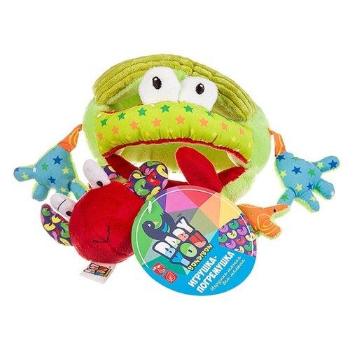 Погремушка BONDIBON Baby You Лягушка ВВ2897 зеленый недорого