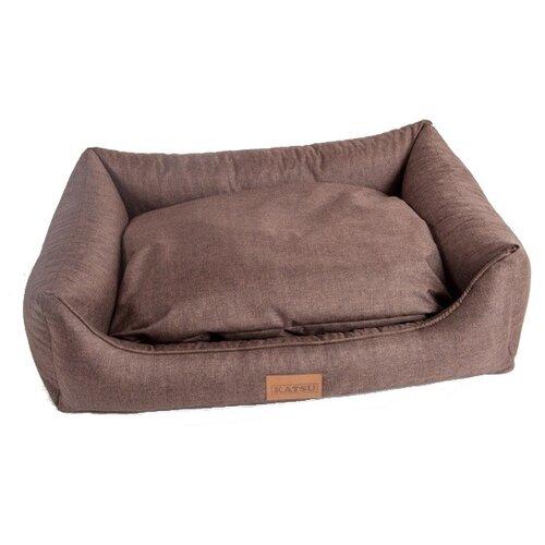 Лежак для собак Katsu Sofa Opi 124х93х29 см шоколадный