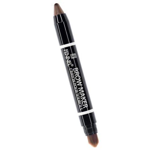 Fennel карандаш FL-2342, оттенок 02 (светло- коричневый) кисть для лица fennel fennel fe028lwango5