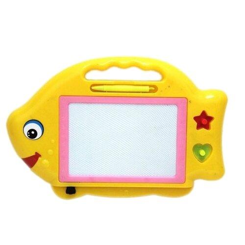 Доска для рисования детская Наша игрушка Рыбка (100844410) желтый игрушка