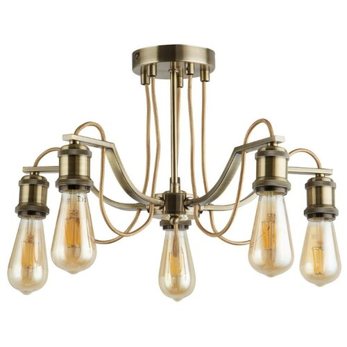 Люстра Arte Lamp Inedito A2985PL-5AB, E27, 300 Вт люстра arte lamp barbara a6066pl 5ab e27 300 вт