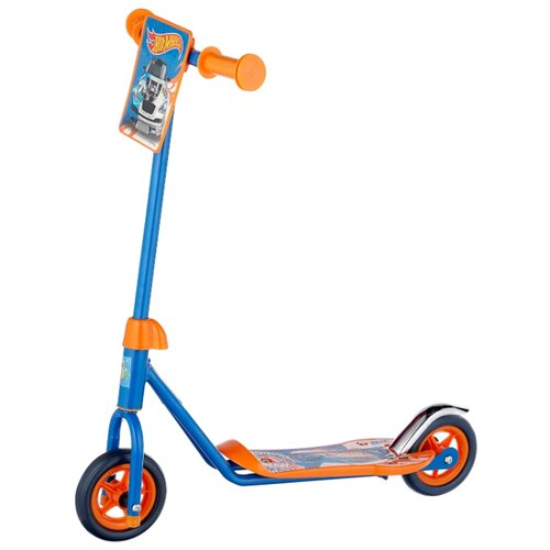 Городской самокат 1 TOY Т57569 Hot wheels голубой