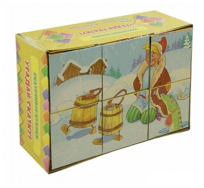 Купить Сказочные кубики. Угадай сказку! по низкой цене с доставкой из Яндекс.Маркета