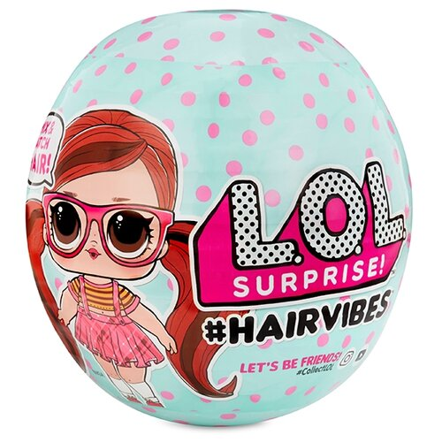 Кукла-сюрприз MGA Entertainment в шаре LOL Surprise 7 серия Hairvibes, 564751 кукла в шаре lol 552154x1e7c