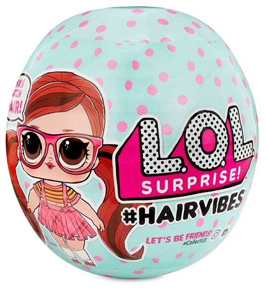 MGA Entertainment Кукла-сюрприз LOL 564751 Hairvibes