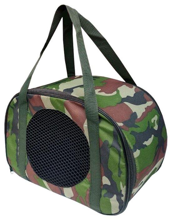 Переноска-сумка для собак Теремок СПО-3 45х22х30 см леопард