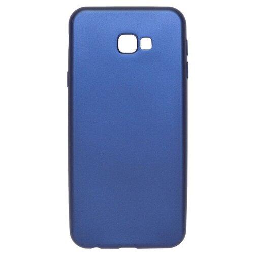 Чехол Volare Rosso Soft-touch для Samsung Galaxy J4+ 2018 (пластик) темно-синий