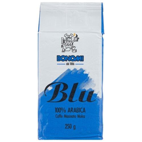 Кофе молотый Bonomi Blu Moka вакуумная упаковка, 250 г gironacci 450 blu giallo