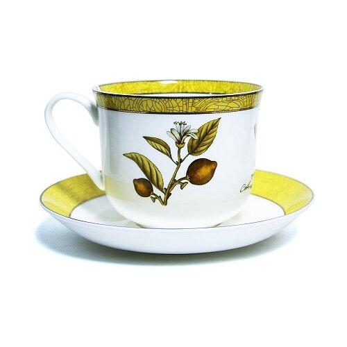 Фото - Чайная пара PRIORITY Дыхание Прованса Лимон, 480 мл, лимон пара чайная priority дыхание прованса вишня 480 мл