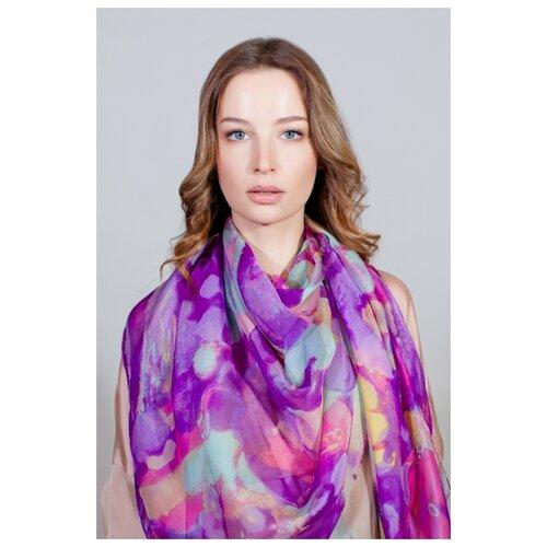 Палантин женский, Sophie Ramage, фиолетовый. недорого