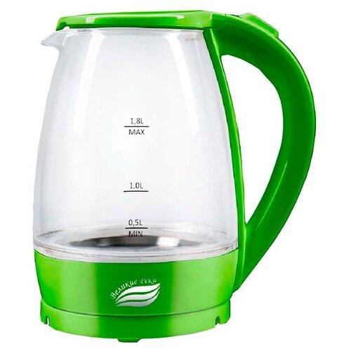 Чайник Великие реки Дон-1, салатовый чайник электрический великие реки дон 1 1850вт белый