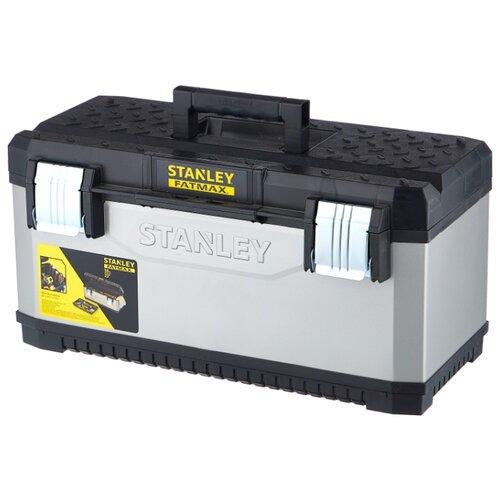 Ящик STANLEY FatMax 1-95-616 58.4x29.3x29.5 см серый/черный ящик для инструментов stanley fatmax 1 95 616 23 584x293x295мм