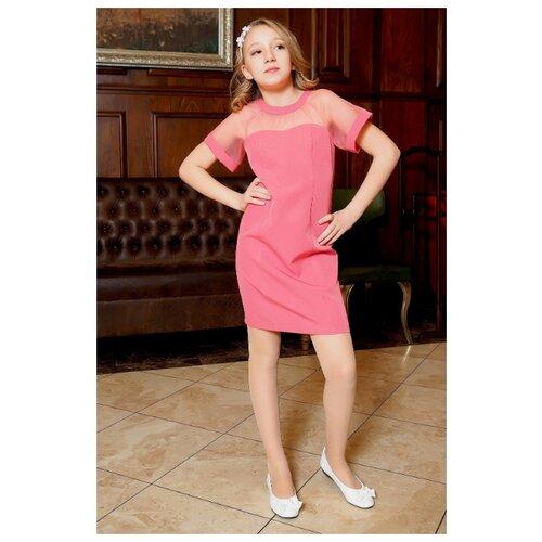 Купить Платье Ladetto размер 32-134, арбузный, Платья и сарафаны
