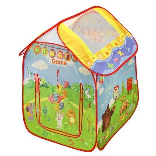 Купить Палатка Yongjia Toys Учимся считать 889-181B, Игровые домики и палатки