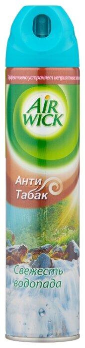 Air Wick аэрозоль Анти-табак Свежесть водопада, 240 мл