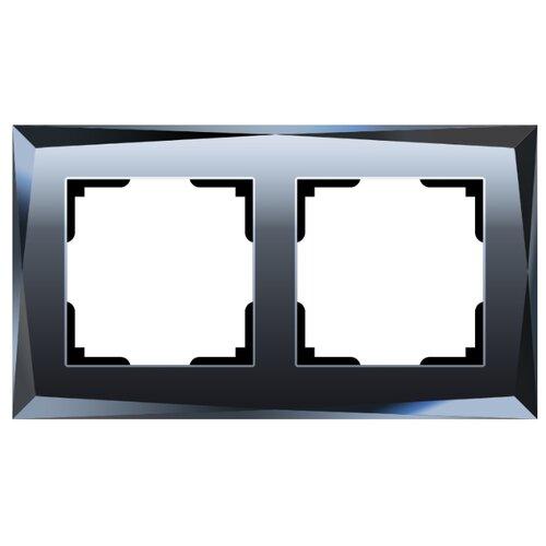 Рамка 2п Werkel WL08-Frame-02, черный
