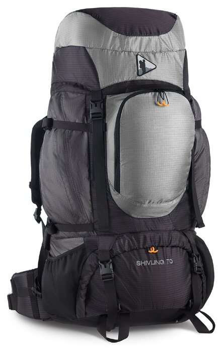 Рюкзак BASK Shivling 70 black/grey