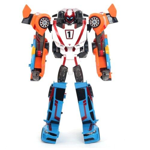 Купить Трансформер YOUNG TOYS Tobot Athlon Champion 301068 голубой/белый/оранжевый, Роботы и трансформеры